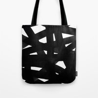 georgiana paraschiv Tote Bags featuring TX02 by Georgiana Paraschiv