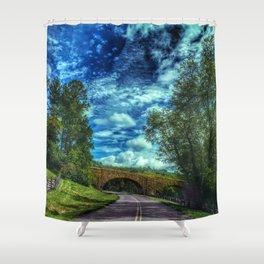 Blue Ridge Parkway No. 2 Shower Curtain