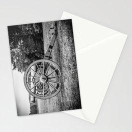 Bull Run Artillery Placement Manassas National Battlefield Park Virginia Black and White Stationery Cards
