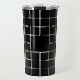 60s SQ Black Travel Mug