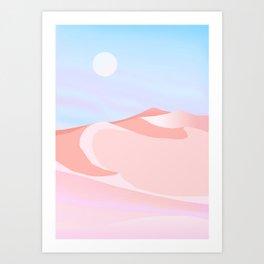 Calm Dune Art Print