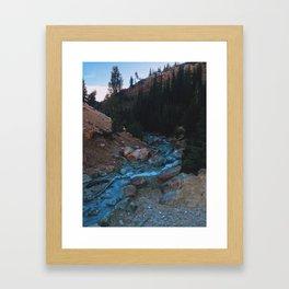 Sulfer Creek Framed Art Print