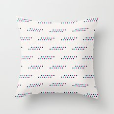 Geometric Dotted Throw Pillow