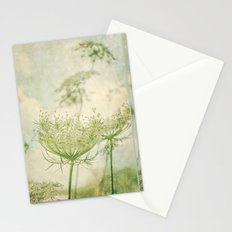 Sanctuary -- White Queen Anne's Lace Meadow Wild Flower Botanical Stationery Cards