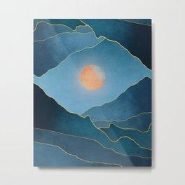 Surreal sunset 03 Metal Print