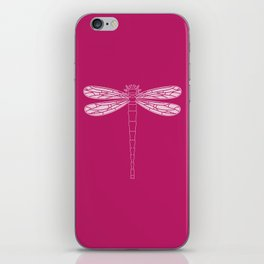 dragonfly in vivacious iPhone Skin