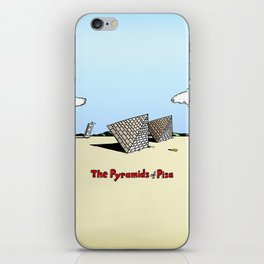 The Pyramids of Pisa iPhone Skin