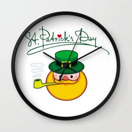 Happy St.Patrick's Day Wall Clock