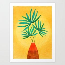 Radiant Flora / Tropical Plant Illustration Art Print