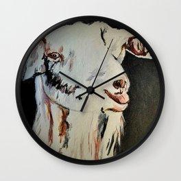 g.o.a.t. Wall Clock