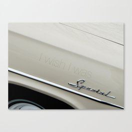 I wish I was special Canvas Print