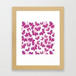 Little Butterflies Framed Art Print