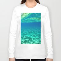 blues Long Sleeve T-shirts featuring Blues by L Shannon Designs