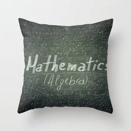mathematics Throw Pillow