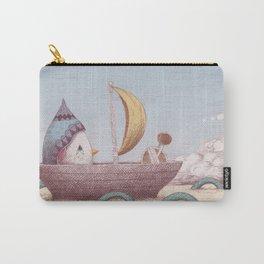 Drummer Bird - Sailing Carry-All Pouch
