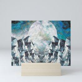Silent Mountains Mini Art Print