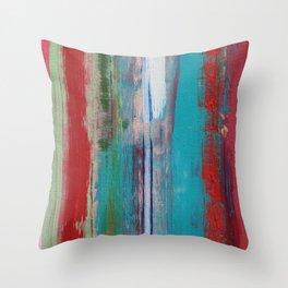 Turquoise Tortoise   Throw Pillow
