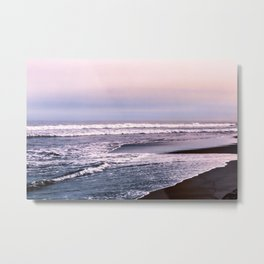 Northern beach Metal Print