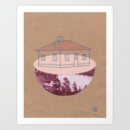 House in Veda Art Print