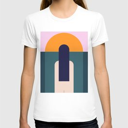 Sun Gazing Girl T-shirt