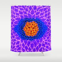 brasil Shower Curtains featuring Brasil Estampa by Henrique Abreu