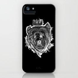 Berlin Bear King iPhone Case