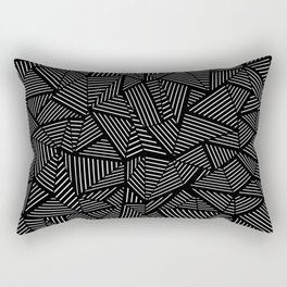 Abstraction Linear Rectangular Pillow