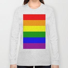 Rainbow Flag Long Sleeve T-shirt