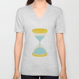 Time is Almost Up! Unisex V-Neck