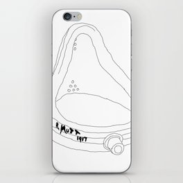 """Marcel Duchamp's Sculpture """"Fountain"""" from 1917 - Readymade Conceptual Art iPhone Skin"""