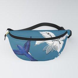 Mountain bluebird pattern Fanny Pack