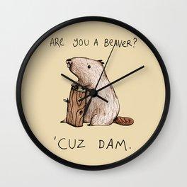 Dam Wall Clock