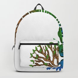 Genetics Tree Genetic Counselor Or Medical Specialist Gift Backpack