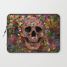 Pink Noise Laptop Sleeve