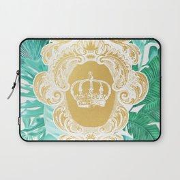 Tropical Leaf Crown Laptop Sleeve