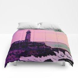 Golden Hours / Lighthouse Barlovento La Palma Comforters