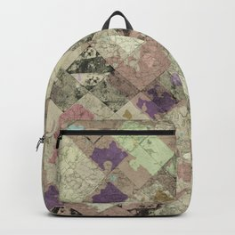 Abstract Geometric Background #25 Backpack