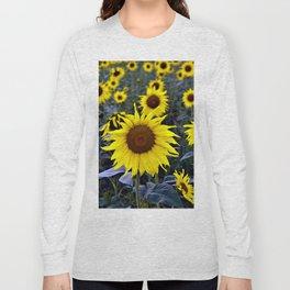 Sunflower Poetry Long Sleeve T-shirt