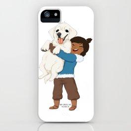 Best Friends | Korra and Naga iPhone Case