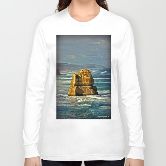 Lone limestone Rock Long Sleeve T-shirt