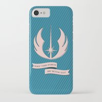 jedi iPhone & iPod Cases featuring Jedi Blueprints by Travis English