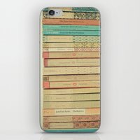 books iPhone & iPod Skins featuring Books by Cassia Beck