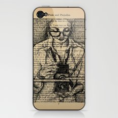 Pride & Prejudice, Page 7 iPhone & iPod Skin