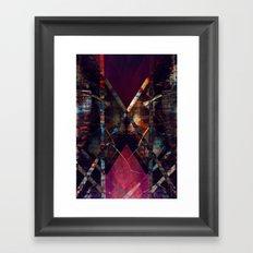disquiet eleven (luxação) Framed Art Print
