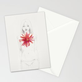 Deep within the long gone love Stationery Cards