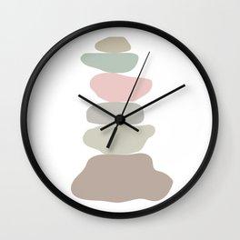 Balancing Stone  Wall Clock