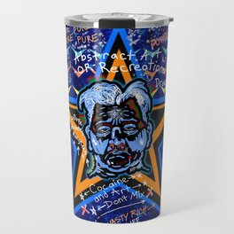 Abstract Drug Life Travel Mug