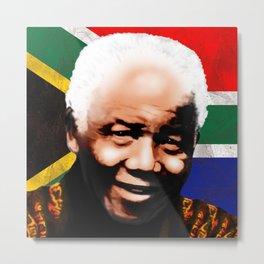Nelson Mandela Madiba ♥ Metal Print