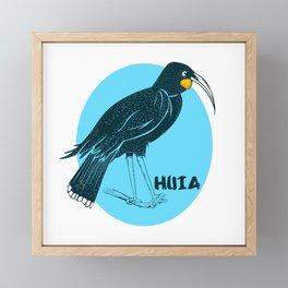 Huia Framed Mini Art Print