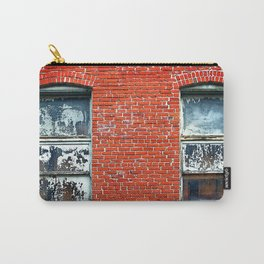 Old Windows Bricks Carry-All Pouch